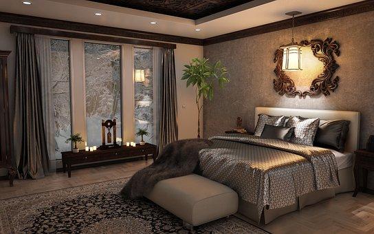 Comment réussir la décoration romantique de sa chambre à coucher ?